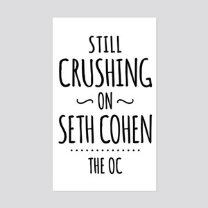 Still Crushing On Seth Cohen The OC Sticker