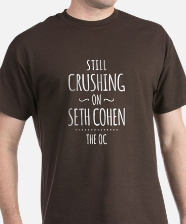 Still Crushing On Seth Cohen The OC T-Shirt