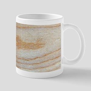 Chic Wood Grain Unique Winston's Fave Mugs