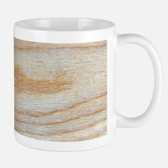 Chic Wood Grain Unique Winston's Fave Mugs