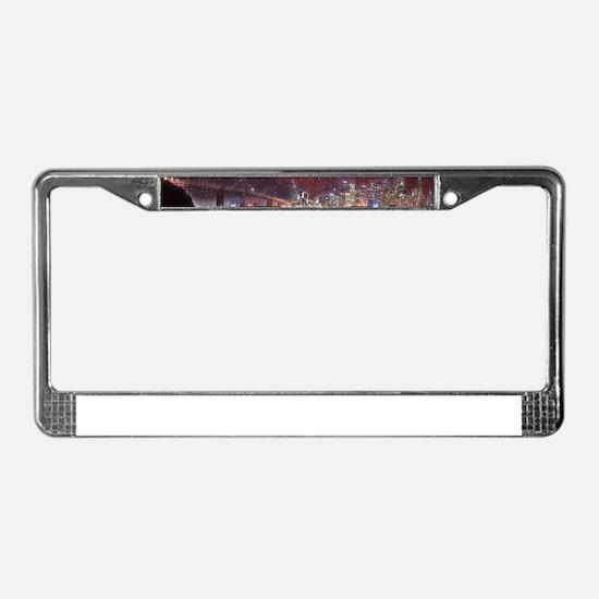 Strange Skys License Plate Frame
