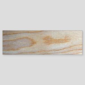 Chic Wood Grain Unique Winston's Fa Bumper Sticker