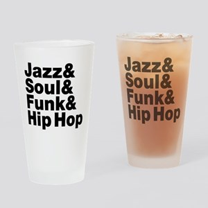 Jazz & Soul & Funk & Hip Hop Drinking Glass