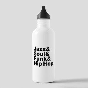 Jazz & Soul & Funk & Hip Hop Sports Water Bottle