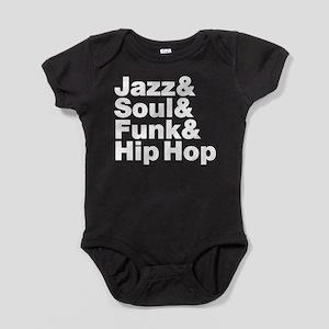 Jazz & Soul & Funk & Hip Hop Baby Bodysuit
