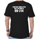 Double Sided Dd214 T-Shirt