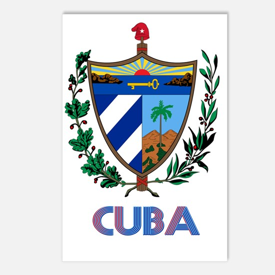 Coat of Arms CUBA Postcards (Package of 8)