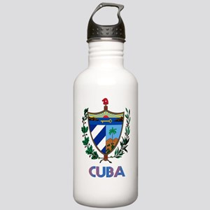 Coat of Arms CUBA Stainless Water Bottle 1.0L