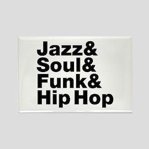 Jazz & Soul & Funk & Hip Hop Magnets