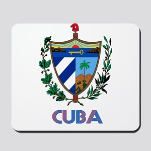 Coat of Arms CUBA Mousepad