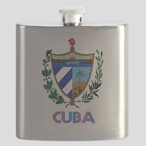 Coat of Arms CUBA Flask