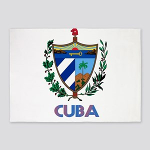 Coat of Arms CUBA 5'x7'Area Rug