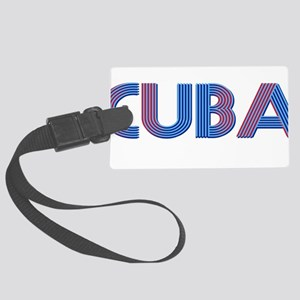 Coat of Arms CUBA Large Luggage Tag