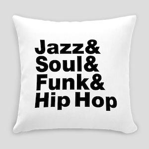 Jazz & Soul & Funk & Hip Hop Everyday Pillow