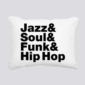 Jazz & Soul & Funk & Hip Hop Rectangular Canvas Pi