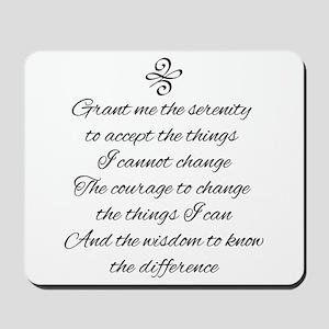 Serenity Prayer Mousepad