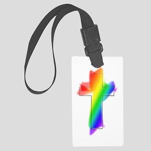 rainbow cross Luggage Tag