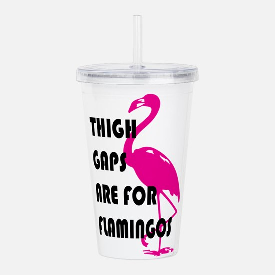 Flamingos Acrylic Double-wall Tumbler