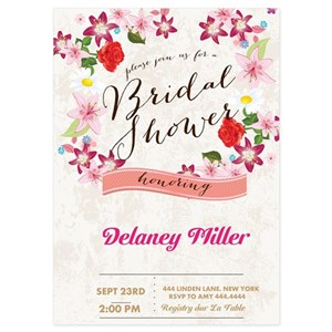 Bridal shower invitations and announcements cafepress filmwisefo