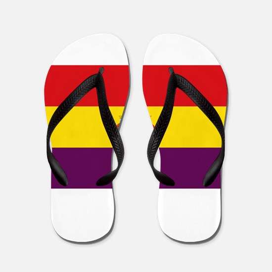 Flag of the Second Spanish Republic Flip Flops