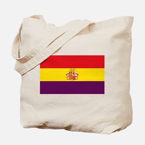 Flag of the Second Spanish Republic Tote Bag
