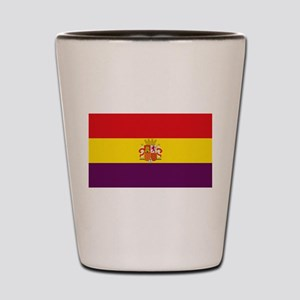 Flag of the Second Spanish Republic Shot Glass