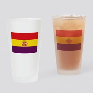 Flag of the Second Spanish Republic Drinking Glass