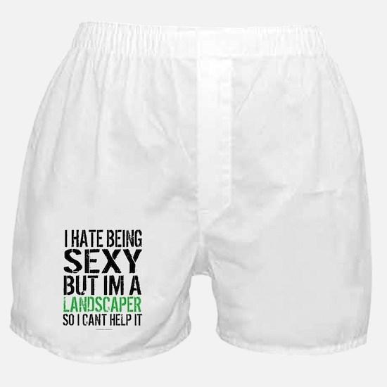 Sexy Landscaper Boxer Shorts