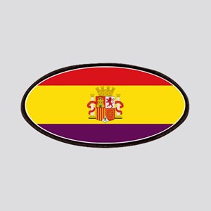 Flag of the Second Spanish Republic Patch