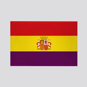 Flag of the Second Spanish Republic Magnets