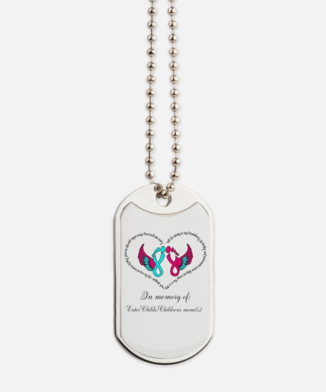 Custom Pregnancy Infant Loss Dog Tags