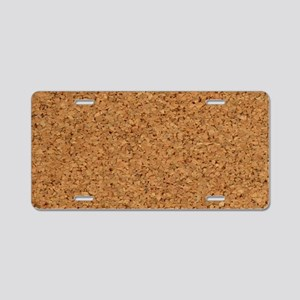 Cool Chic Cork Stanley's Fa Aluminum License Plate