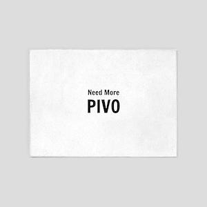 Need More Pivo 5'x7'Area Rug