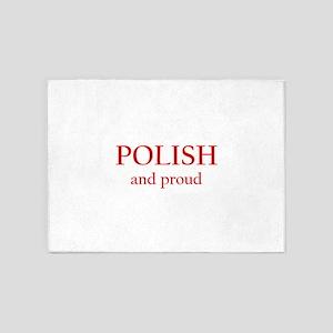 Polish and Proud 5'x7'Area Rug