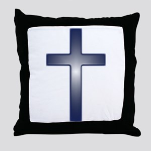 crossglowing1 Throw Pillow