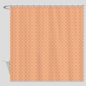 Tangernie Quatrefoil Shower Curtain
