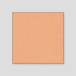 "Tangernie Quatrefoil Square Sticker 3"" x 3"""