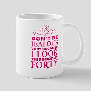 Look This Good at 40 Mugs