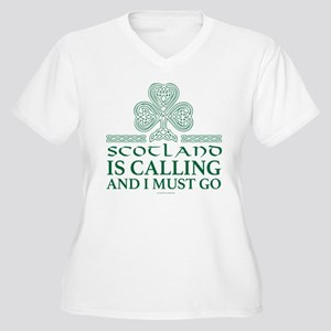 Scotland Is Calling Plus Size T-Shirt