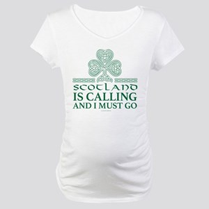 Scotland Is Calling Maternity T-Shirt