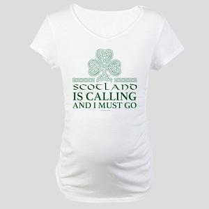 Scotland Is Calling Maternity T-Shirt