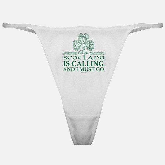 Scotland Is Calling Classic Thong