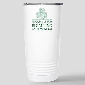 Scotland Is Calling Stainless Steel Travel Mug