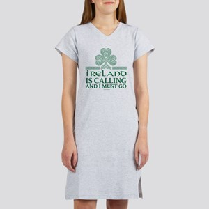 Ireland is Calling Women's Nightshirt