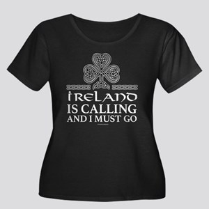 Ireland is Calling Plus Size T-Shirt