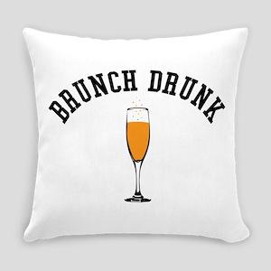 Brunch Drunk Everyday Pillow