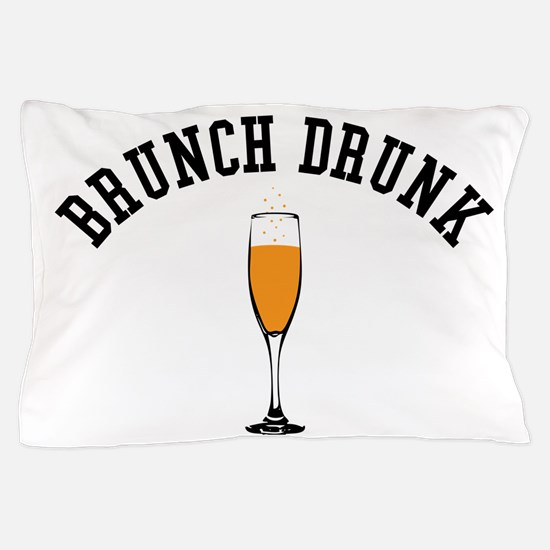 Brunch Drunk Pillow Case