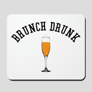 Brunch Drunk Mousepad