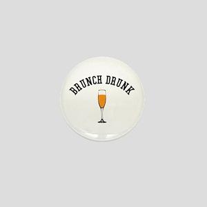 Brunch Drunk Mini Button