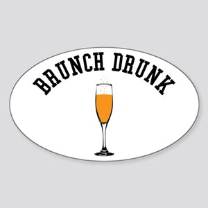 Brunch Drunk Sticker